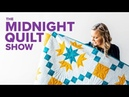 Flying Geese Quilt Redo! | S7E1 Midnight Quilt Show with Angela Walters