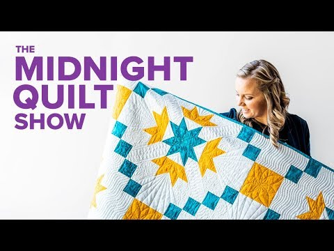 Flying Geese Quilt Redo!   S7E1 Midnight Quilt Show with Angela Walters