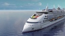 Круизный лайнер Ecoship. Солнечные паруса и энергия ветра.