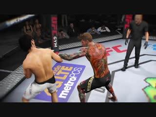 [fusion gaming] ea sports ufc 2 - best brutal knockouts compilation #1