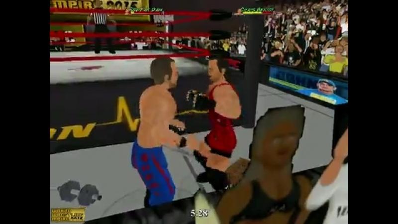 Rob Van Dam vs Chris Benoit