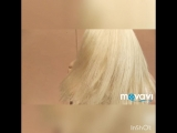 Чистейший блонд для Арины. Мастер-стилист Илона Шмидт.