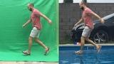 Green screen Chroma key tutorial in 4 minutes - walking on water