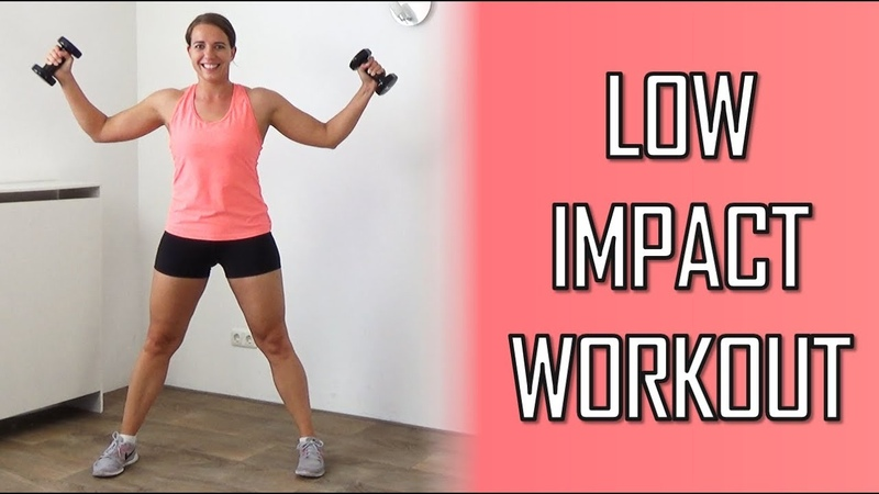20 Minute Low Impact Workout with Dumbbells – Calorie Burning and Muscle Endurance Workout