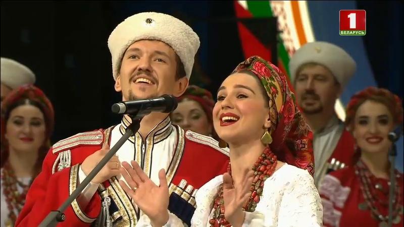 Цераз рэчаньку (беларусская народная песня)