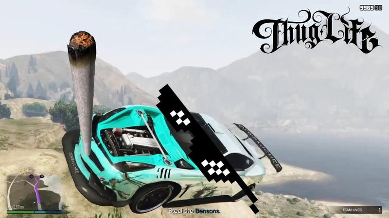 GTA 5 Thug Life | Фейлы, Трюки, Эпичные Моменты | Приколы в GTA 5 10
