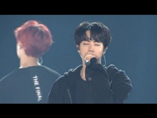 born singer @ wings tour final in seoul