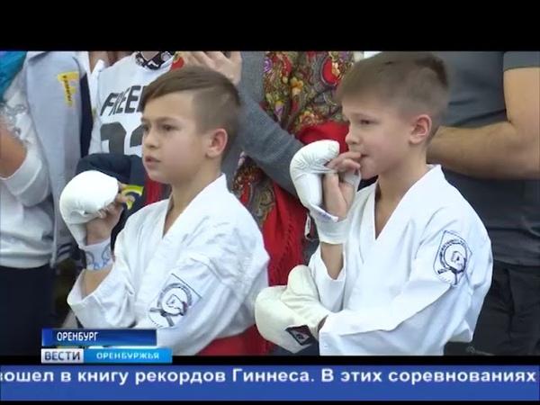 Мастера боевых искусств В Оренбурге состоялся турнир по восточному боевому единоборству Кобудо