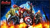 Jigsaw Puzzle Iron Man Spiderman and Heroes Avengers
