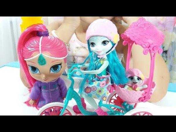 Shimmer Shine Kids Video ШИММЕР И ШАЙН Enchantimals НОВИНКА