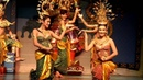 Thai Traditional Dancing and Fine Arts Show Geleneksel Thailand Dans Gösterisi