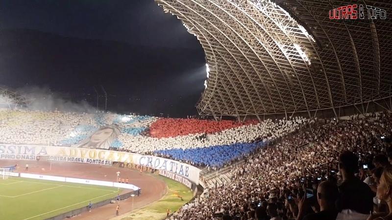 EL Hajduk Split - FCSB Bukarest [Fans]. 2018-08-09