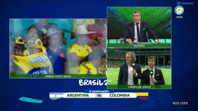 COPA AMERICA 2019 COLOMBIA VS ARGENTINA
