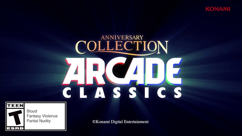 Arcade Classics Anniversary Collection by Konami