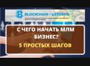 Блокчейн Деревня¦Первые Шаги Новичка в МЛМ бизнесе¦Вебинар¦Обучение