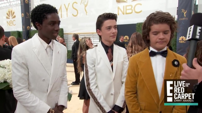 Stranger Things Stars Tease Season 3 at 2018 Emmys - E! Live from the Red Carpet