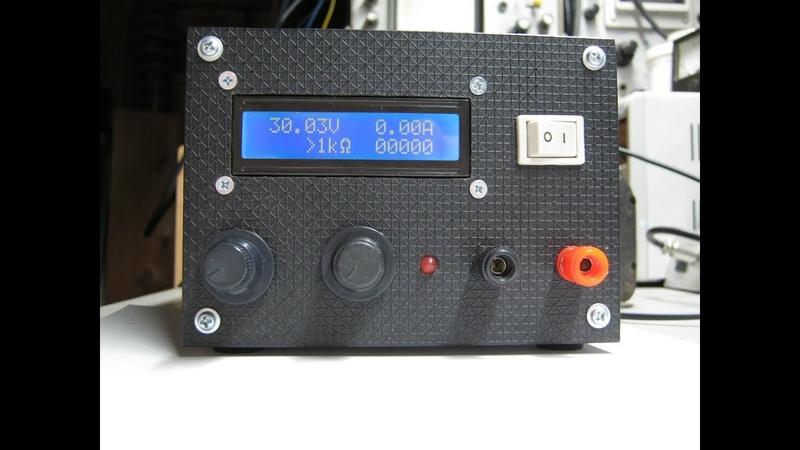Лабораторный блок питания 0-30В 0-3А