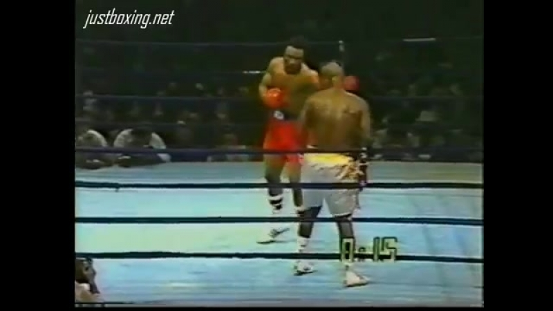 Джо Фрэзер Джордж Форман 2 й бой Smokin Joe Frazier Джо Фрейзер vs George Foreman II