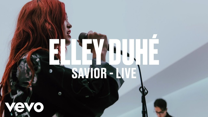 Elley Duhé - SAVIOR (Live) | Vevo DSCVR ARTISTS TO WATCH 2019