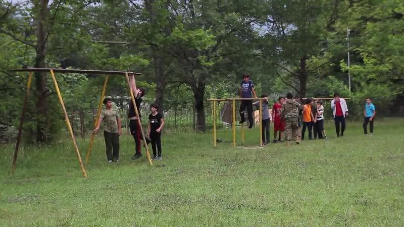 Детский военно патриотический лагерь