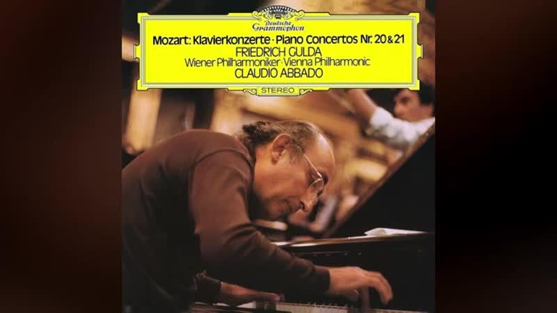 Friedrich Gulda - Mozart_ Piano Concerto No. 21 in C major, K. 467 (1974)