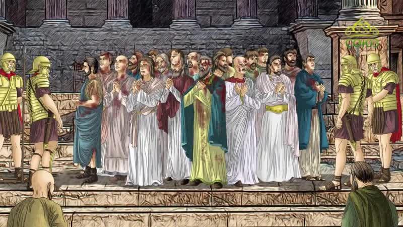 23 мая Мученики Алфий, Филадельф, Киприан, священномученик Онисим, пресвитер, мученик Еразм и 14 других, с ними пострадавших.