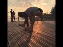 Седьмая виньяса в Буджапидасане Аштанга йога