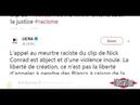 Le Rappeur Pendez Les Blancs Risque 5 Ans De Prison Et 45 000 Euros D' Amende Inculpé
