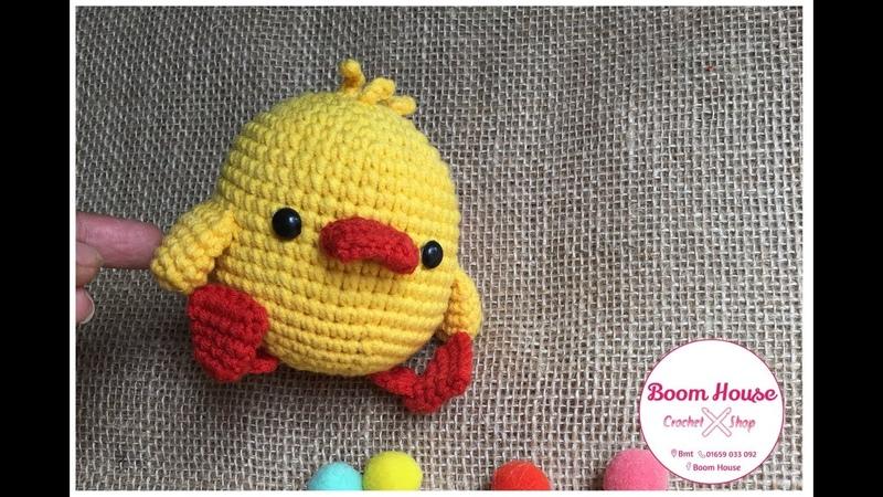 Crochet DUCK l Móc con VỊT l Boom House