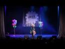 Aki и Nao ARLEQUIN Yuuki и Leo косплей группы Hidzoku Железнодорожный Москва J Rock Конвент 2018