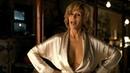 Gold Silk Robe - Jane Fonda