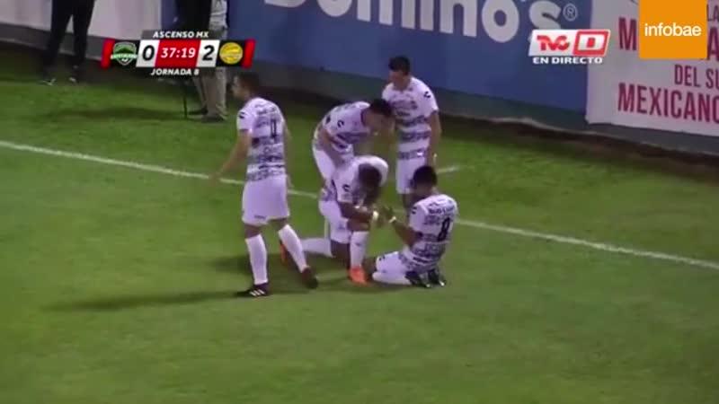 YouTube Fabián Bordagaray y la chalaca considerada como uno de los mejores goles en el año en el fútbol mexicanoPese a converti