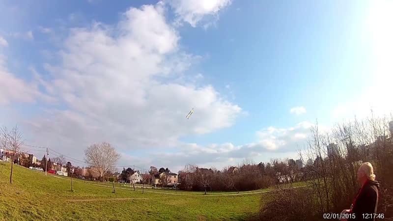 Erster 4D Flug Jänner 2015