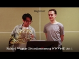 Professional vs Beginner French Horn (Twoset Violin)