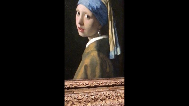 2, Johannes Vermeer (1632-1675) The Gir With The Pearl Earring (1665), Vermeer