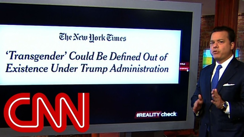 Reality check: Is Trump trying to write off transgender people?