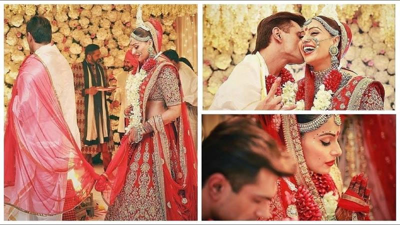 Очень красивая свадьба Бипашы Басу и Карана Сингх Гровера.