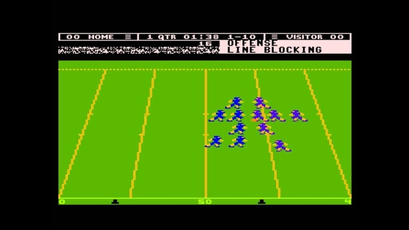 Touchdown Football for the Atari 8-bit family
