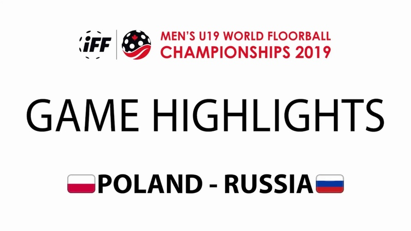 2019 Men's U19 WFC - POL vs RUS Highlights