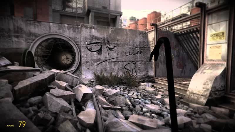Half life 2 cinematic mod часть 1