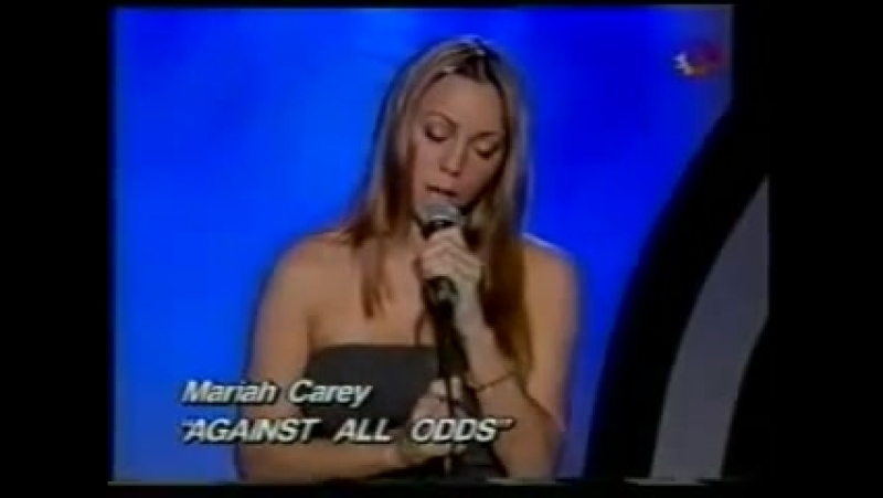 Mariah Carey Rainbow Interlude Against All Odds (Take a Look at Me Now) (Live - Argentina 1999)