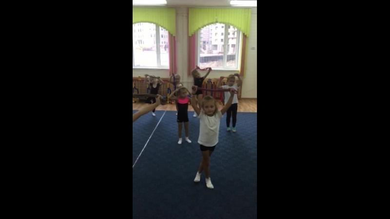 Художественная гимнастика , дс 59, старшая группа! Тренер Кручинина Ольга Владимировна. «Входим в форму после летних каникул»