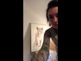 Рисуем портрет мертвой кошки 😆
