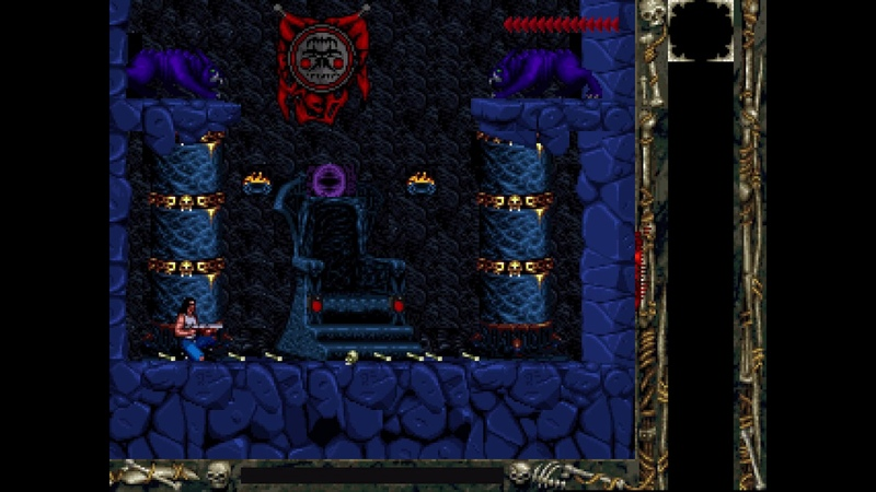 Black Thorne - Stage 4 - Boss Ending (1994) [MS-DOS]
