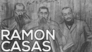 Ramon Casas: A collection of 203 sketches (HD)