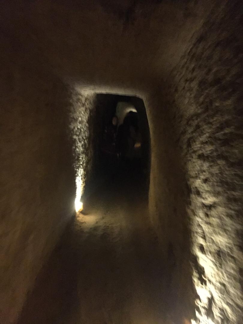 Ходы подземного города