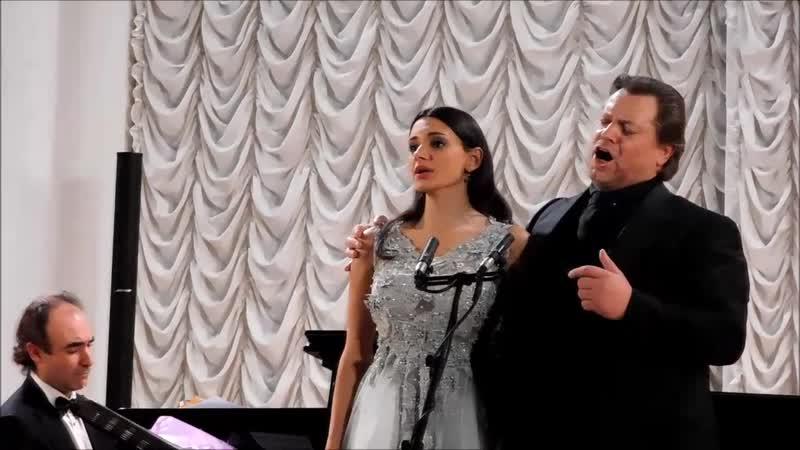 Василий Герелло и Юлия Сулейманова. Нiчь яка мiсячна