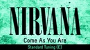 Nirvana - Come As You Are (backing track for guitar, standard tuning E)