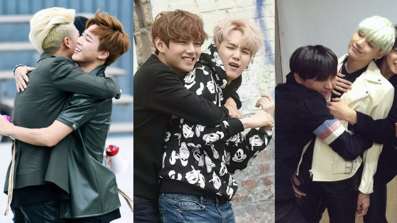 BTS (防弾少年団/방탄소년단) Hug Compilation Kpop [VGK]