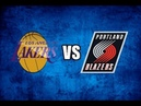 Los Angeles Lakers vs Portland Trail Blazers Full Game NBA LIVE STREAM HD